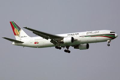 A40-GI B767-300 Gulf Air. 16/2/07.