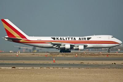 N747CK B747-200F Kalitta Air. 14/2/08.