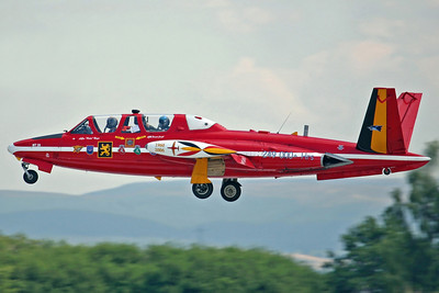 MT-26 CM170R Fouga Magister FAB 1Wg (Special markings). 28/7/06.