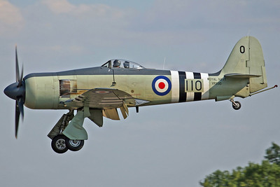 VR930/110 Sea Fury FB.11 RNHF. 28/7/06.