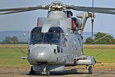 ZH838/CU Merlin HM1 RN 824Sq '86 Tristan'. 28/7/06.