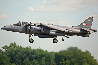 ZD406/35 Harrier GR7 20(R)Sq. 28/7/06.