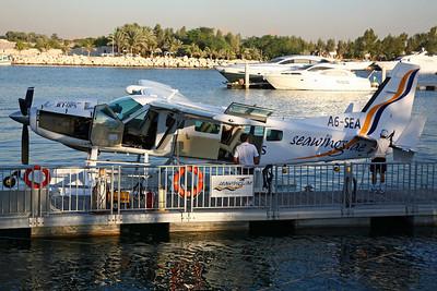 A6-SEA Cessna 208 Seawings/Jet-Ops. Jebil-Ali Marina 13/12/07.