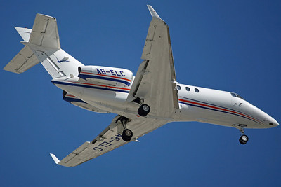 A6-ELC Hawker 850XP Elite Jets. 8/2/08.