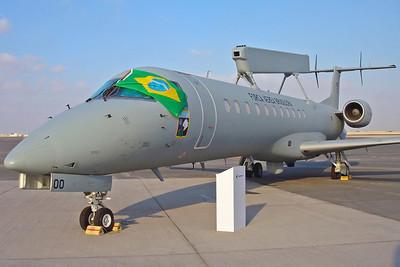 6700 R-99A (EMB-145AEW) Brazilian AF 2/6GAv. Dubai Airshow 2005.
