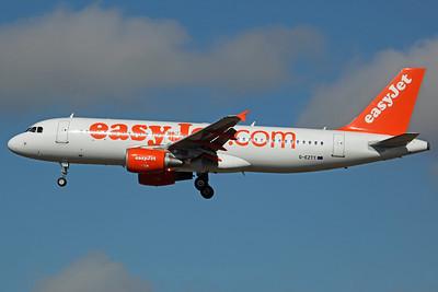 G-EZTY A320-200 Easyjet. 23/9/13
