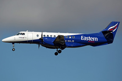 G-MAJB Jetstream 41 Eastern Airways. 23/9/13