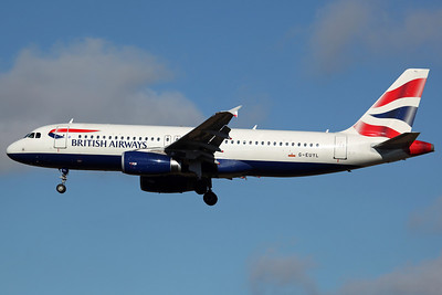G-EUYL A320-200 British Airways. 23/9/13
