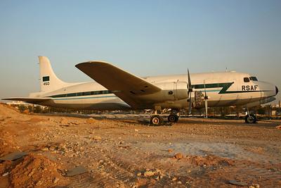 450 C-54A (10303) RSAF (ex HZ-AAH)