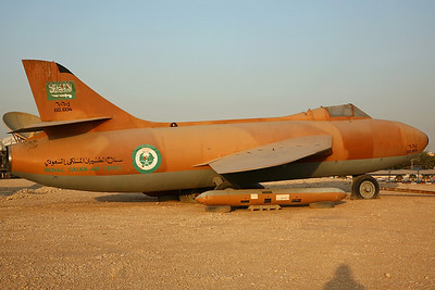 '60-604' Hunter F60 Mock-Up RSAF