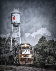 Westminster Water Tower_Train