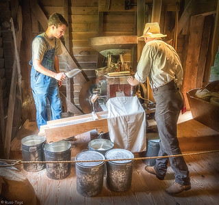 Working The Mill - Hagood Mill in Pickens,SC