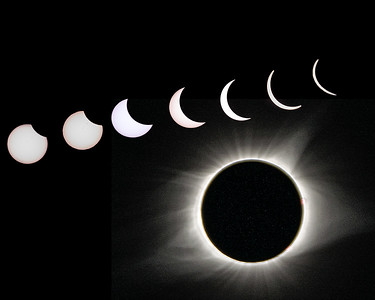 Full Solar Eclipse Sequence