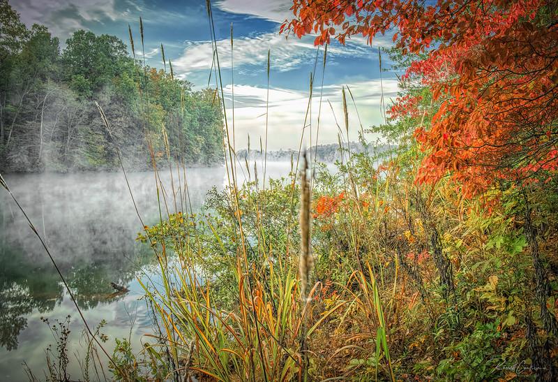 Lake Keowee Morning Fog