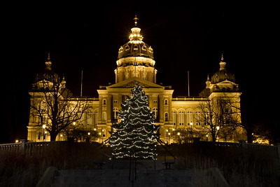 Merry Christmas from Des Moines!