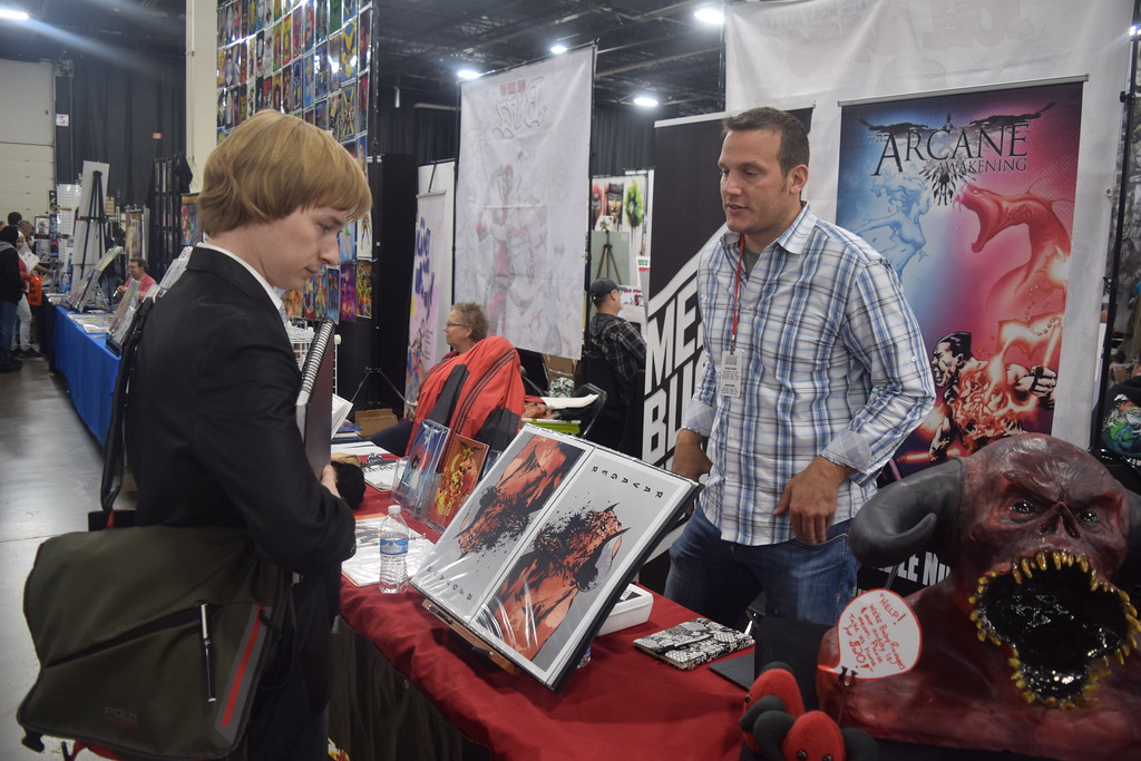. Thousands of people flocked to the Suburban Collection Showplace in Novi for the first day of the 2017 Motor City Comic Con May 19. Dave Herndon - Digital First Media