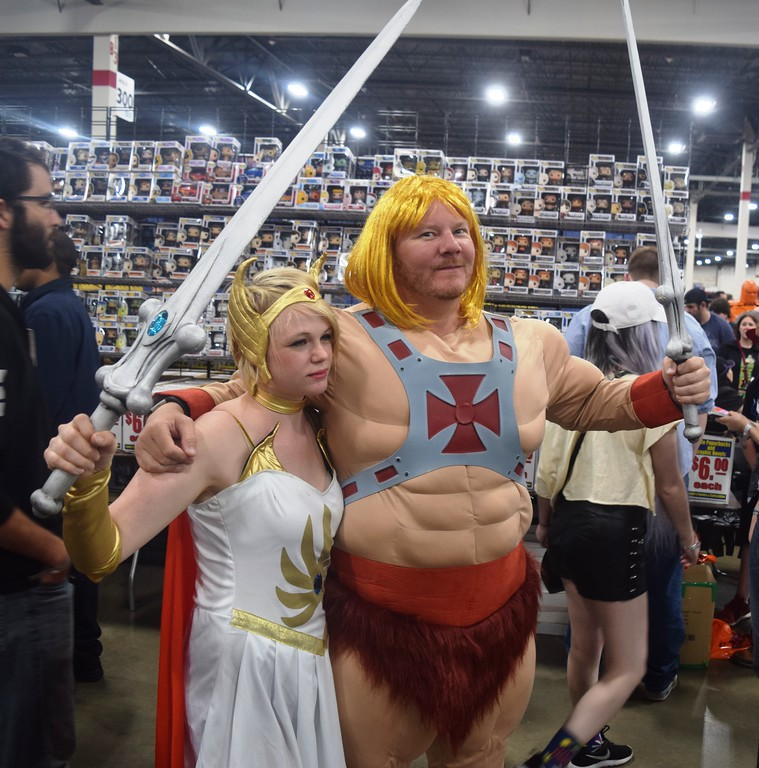 . The annual cosplay contest was one of the highlights of Saturday at the 2017 Motor City Comic Con. More than 100 people participated in the contest, which drew thousands of people to watch.  Dave Herndon - Digital First Media