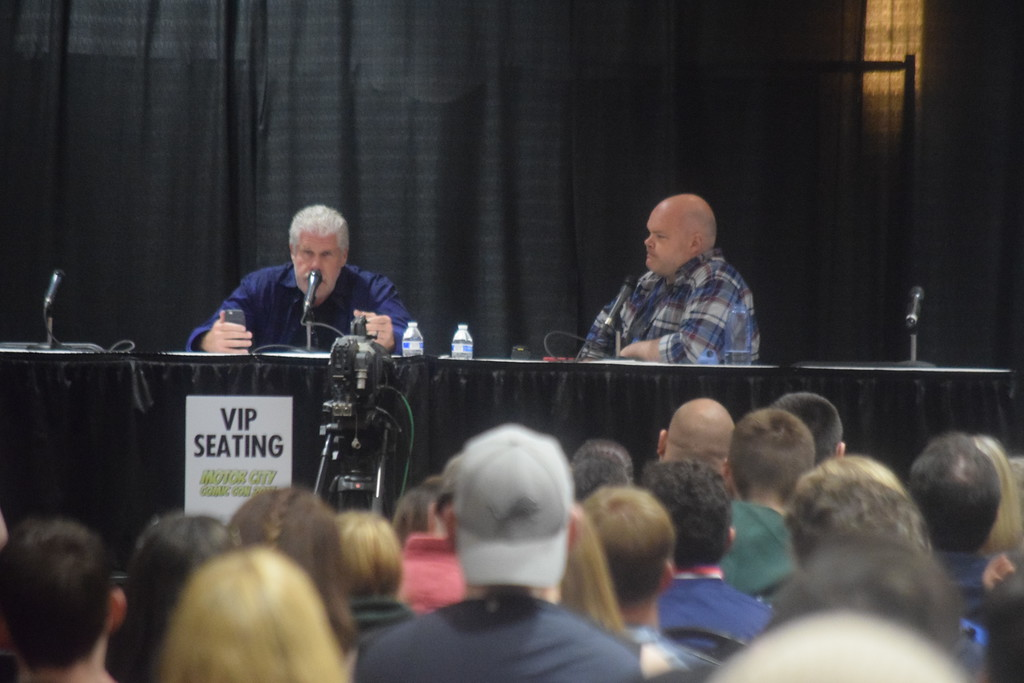 . Day three at the 2017 Motor City Comic Con included several panel discussions, cosplay and much more shopping as the annual pop culture bonanza wrapped up in style.  Dave Herndon - Digital First Media