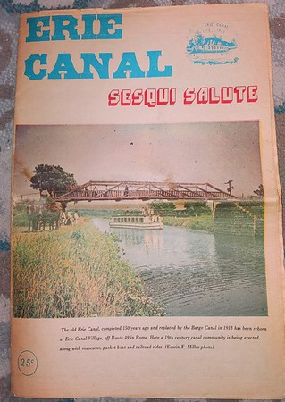 Erie Canal Sesqui Salute