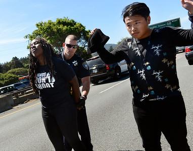 Monterey Black Lives Matter Protest 032815