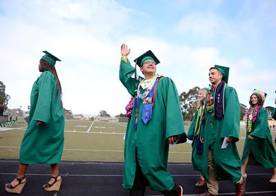 Monterey High Graduation 060515