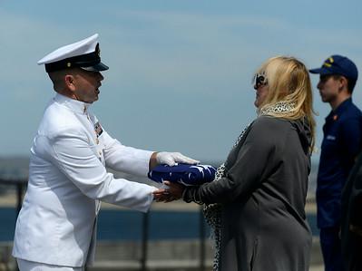 Navy Commander Seeboth Memorial 071714