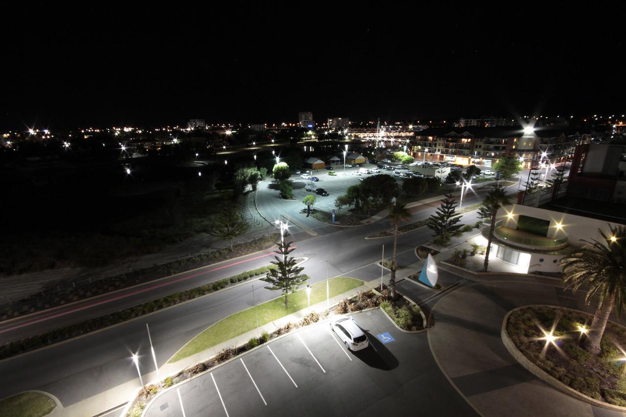 View from Seashells Resort balcony.