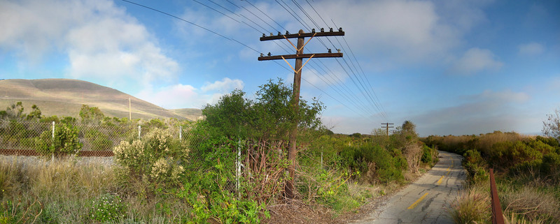 Bike Path on the Gaviota Coast