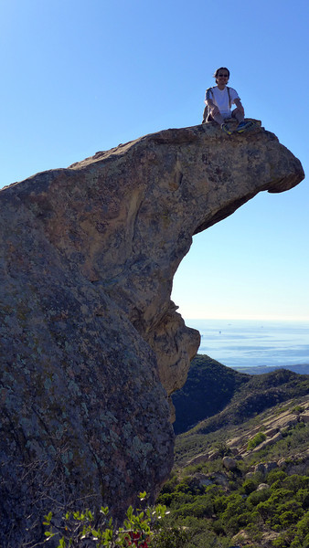 Lizard's Mouth, Santa Barbara