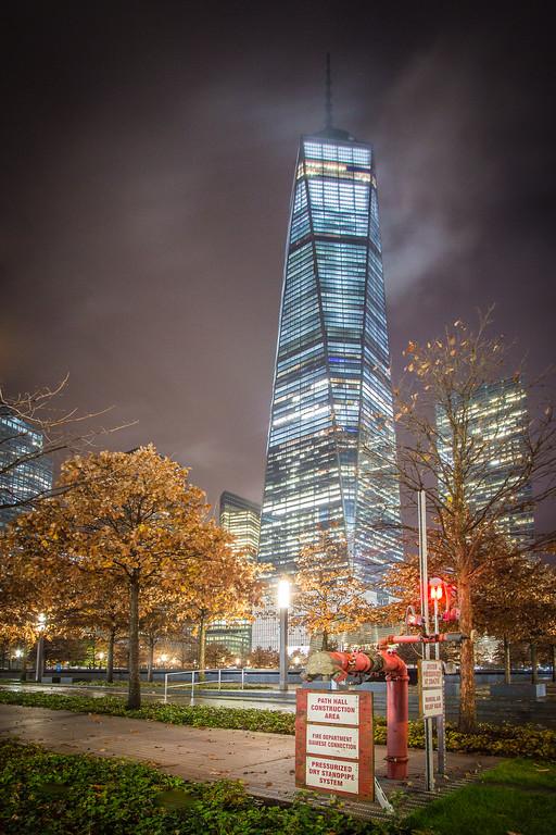 World Trade Center Autumn Night - III