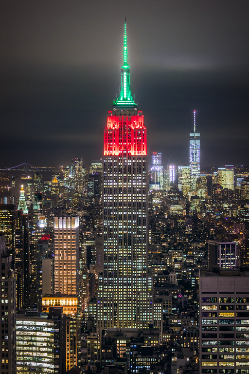 Empire State and One WTC