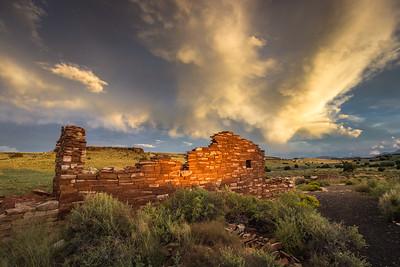 Crested Ruins at Box Canyon