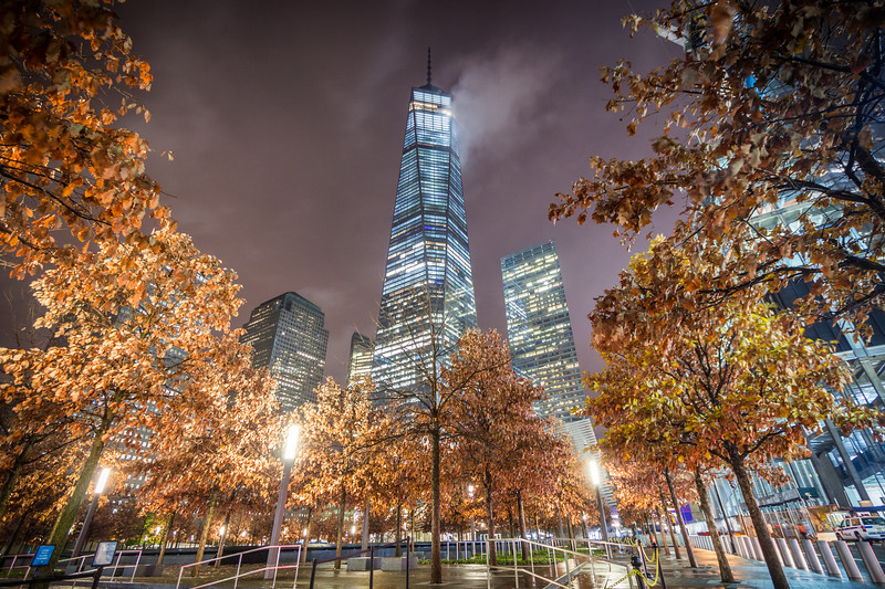 World Trade Center Autumn Night - I