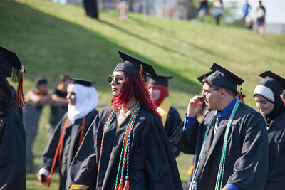 Congratulations to the graduating seniors of the Class of 2016 at Dearborn High School. Dearborn's graduating class had an average GPA of 3.1, and had 34 seniors graduating with over a 4.0. Photos by Matt Thompson, Copyright 2016 Press & Guide