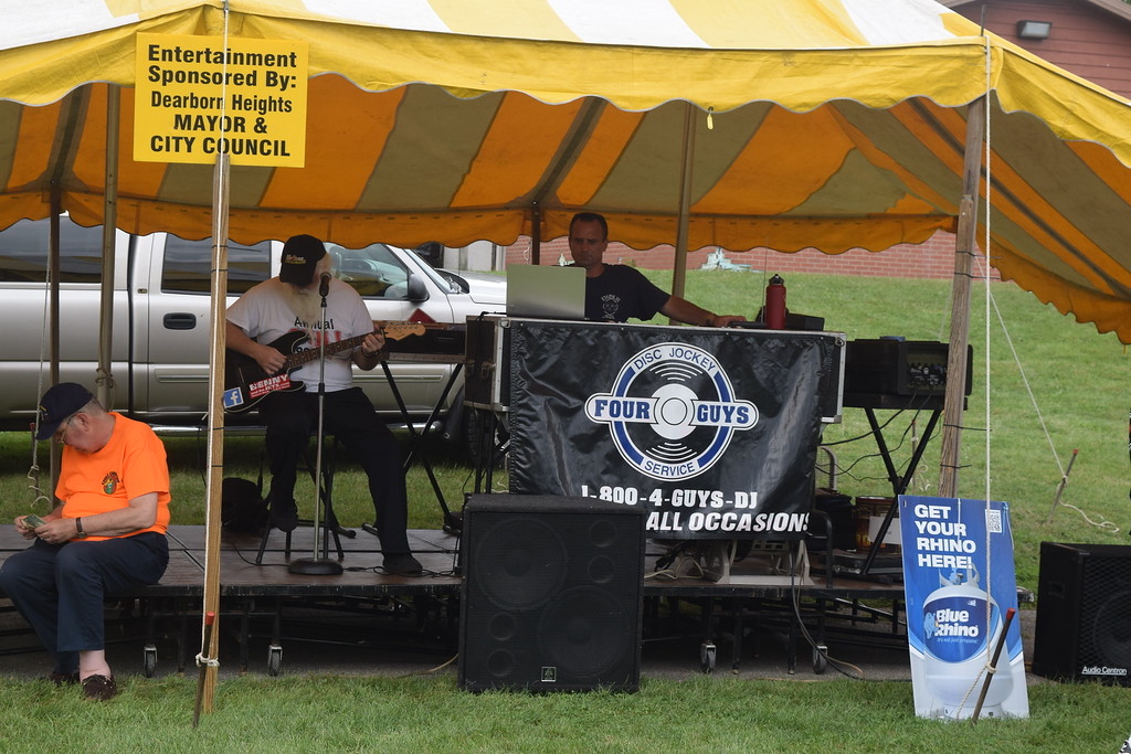 . Food, beverages, entertainment and more were offered by the promoters and volunteers at the 26th annual Dearborn Heights Professional Firefighters Chili Cook Off. The event is the largest fundraiser the group does every year as they raise at least $10,000 to send child burn victims to camp.