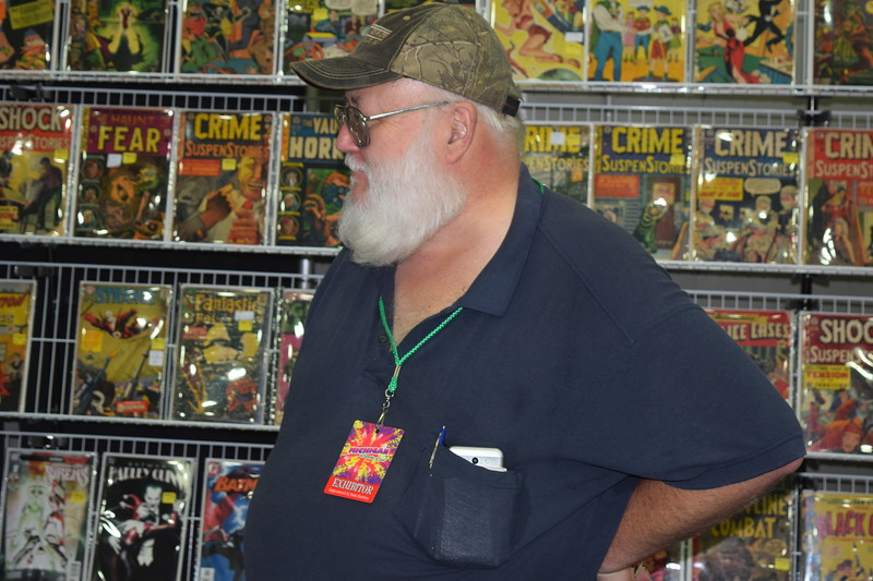 The Michigan Comic Con was held Aug. 17-19 at Cobo Hall in Detroit. The first year show was one of the larger comic book conventions in the state, and drew people from all over the region.