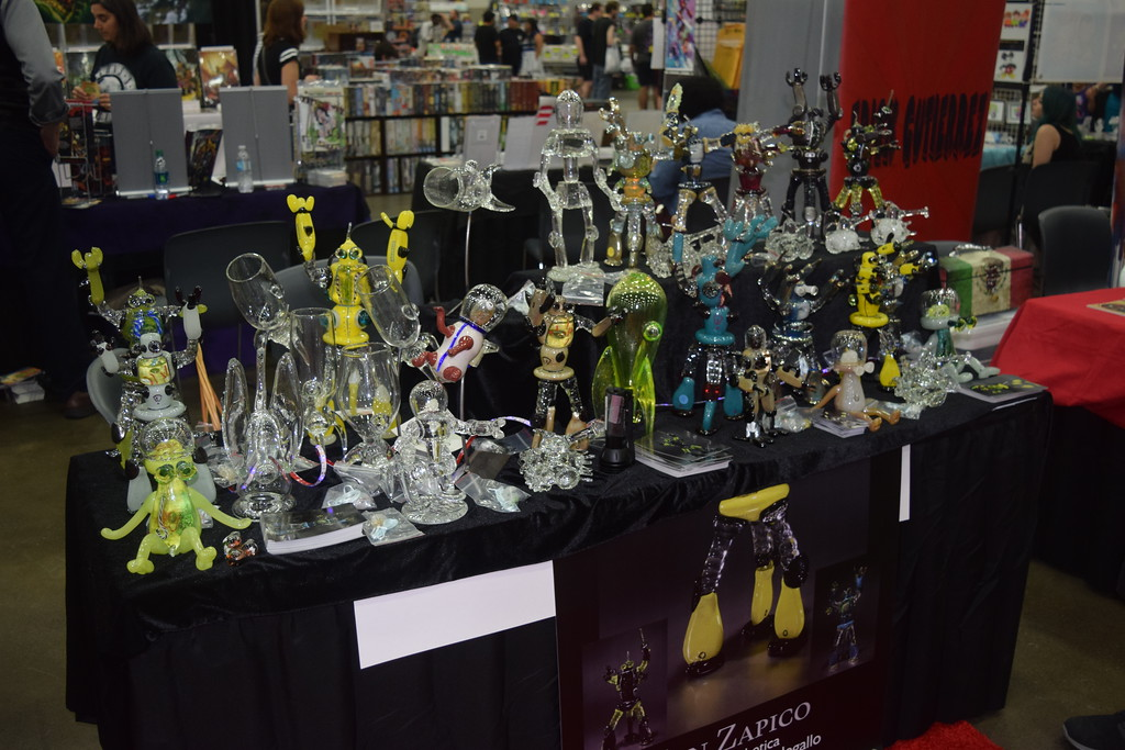 . The Michigan Comic Con was held Aug. 17-19 at Cobo Hall in Detroit. The first year show was one of the larger comic book conventions in the state, and drew people from all over the region.