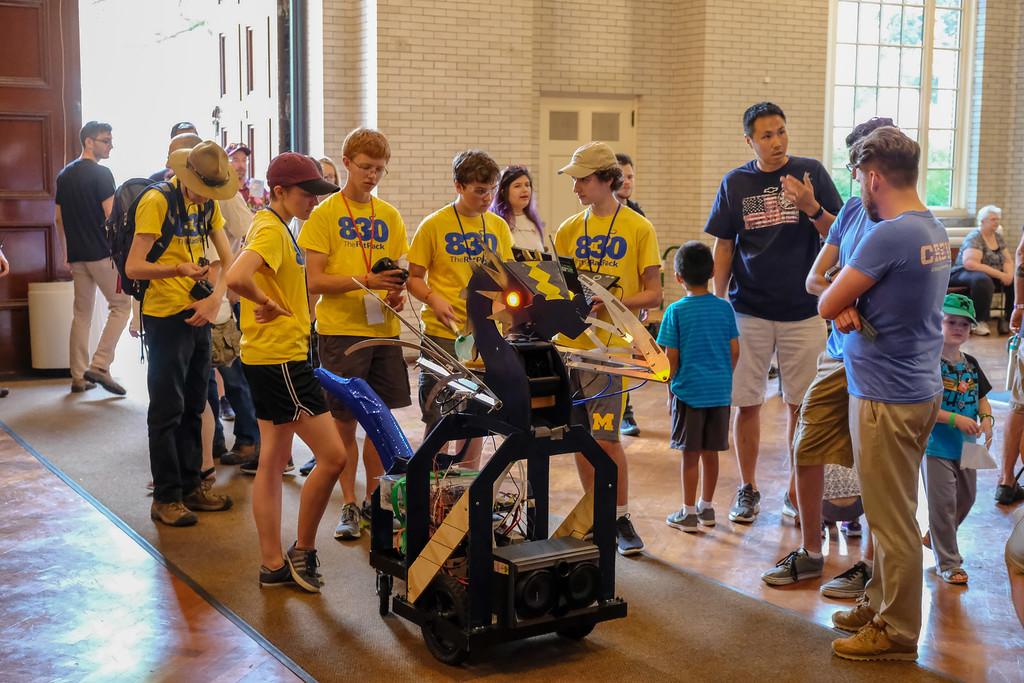 . The Henry Ford Museum held the annual Maker Faire over the weekend. Photos by Matthew Thompson for The Press & Guide.