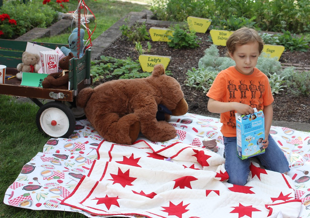 . The annual Dearborn Historical Museum Teddy Bear Picnic was held July 29. Photos by Sue Suchyta