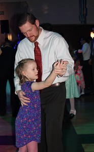 Mark Woolley dances with his best girl, daughter Elizabeth, 7, during enjoy the Daddy – Daughter Dance in Dearborn.