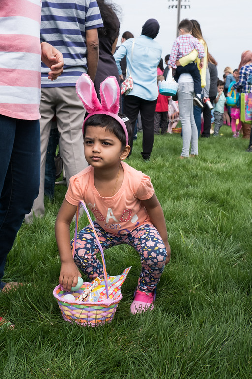 . The Dearborn Heights Kiwanis Club held its annual Easter Egg Hunt on Saturday, April 15, 2017. Students from the Annapolis High School Key Club and Crestwood High School National Honor Society volunteered at the event.  Activities were broken down by age groups, making the day fun for all. Photo by Debbie Malyn for the Press & Guide.