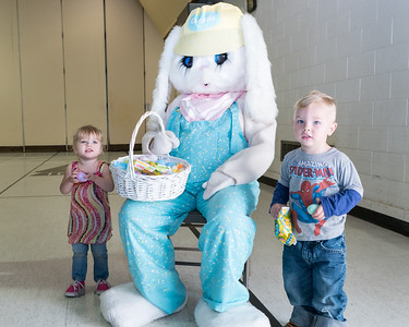 The Dearborn Heights Kiwanis Club held its annual Easter Egg Hunt on Saturday, April 15, 2017. Students from the Annapolis High School Key Club and Crestwood High School National Honor Society volunteered at the event.  Activities were broken down by age groups, making the day fun for all. Photo by Debbie Malyn for the Press & Guide.