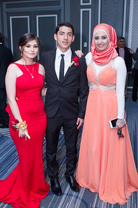 Leslie Coronado, Martin Gonzalez and Duaa Alhuchem dressed to impress at Dearborn High's 2016 Prom! Dearborn High School held their 2016 Prom at The Henry Hotel Sunday evening. Photos by Matt Thompson, Copyright 2015 Press & Guide