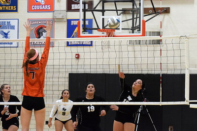 Dearborn High welcomed in Edsel Ford on Thursday night and swept the Thunderbirds 3-0. Photo by Frank Wladyslawski -  Press & Guide