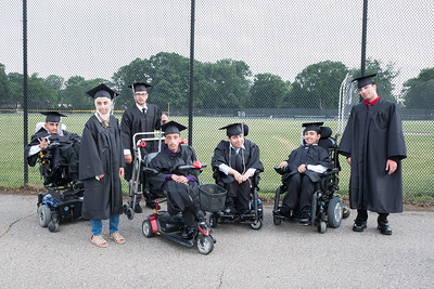 Graduates from Mrs. Lica's and Mr. Hamel's class. Photo by Debbie Malyn for the Press & Guide.