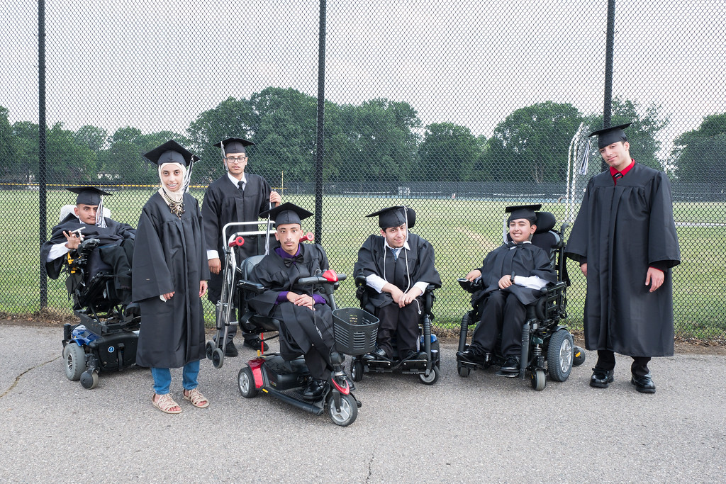 . Graduates from Mrs. Lica\'s and Mr. Hamel\'s class. Photo by Debbie Malyn for the Press & Guide.