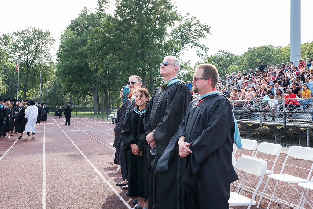 . Edsel Ford faculty members. Photo by Debbie Malyn for the Press & Guide.