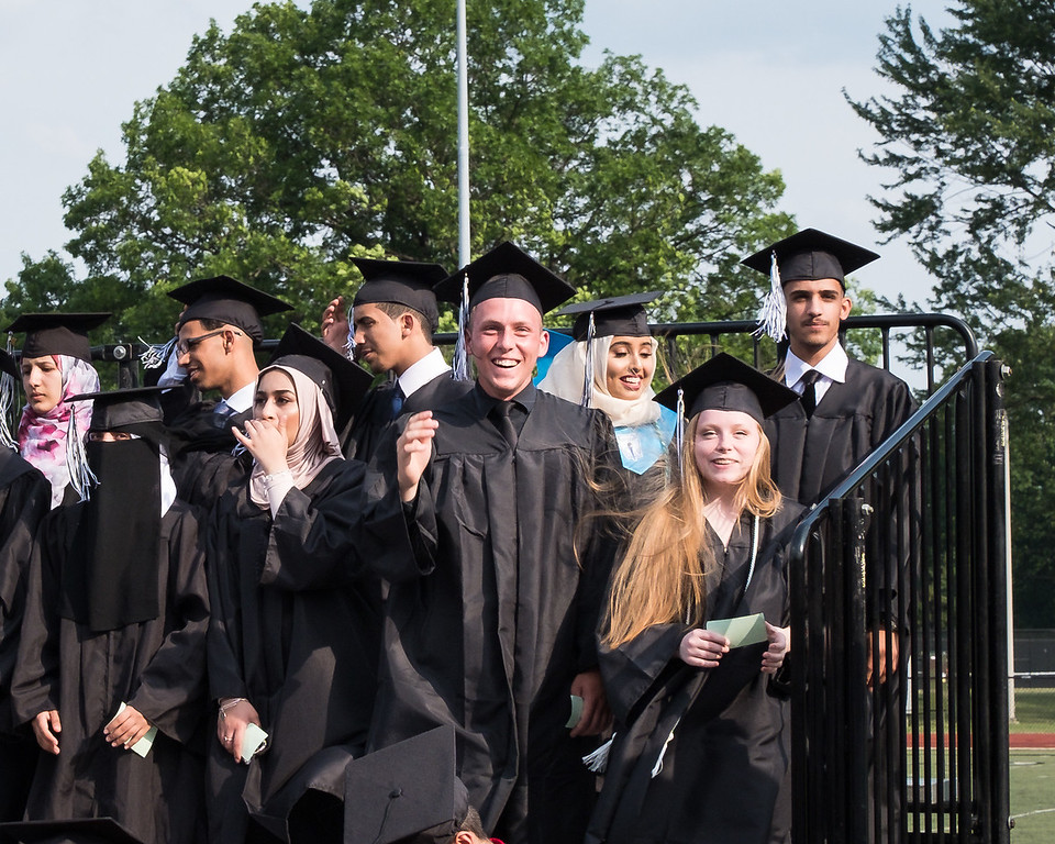 . Edsel Ford High School celebrated its 74th Graduating Class on Saturday, June 17, 2017. The graduation ceremony was held at Edsel Ford on the athletic field. Photo by Debbie Malyn for the Press & Guide.