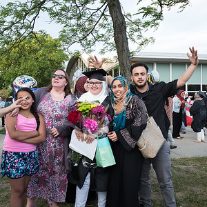 Edsel Ford High School celebrated its 74th Graduating Class on Saturday, June 17, 2017. The graduation ceremony was held at Edsel Ford on the athletic field. Photo by Debbie Malyn for the Press & Guide.