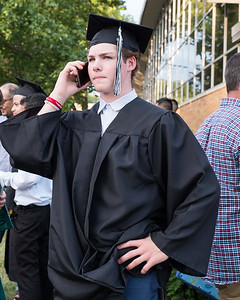 Graduate Cameron Wyka. Photo by Debbie Malyn for the Press & Guide.